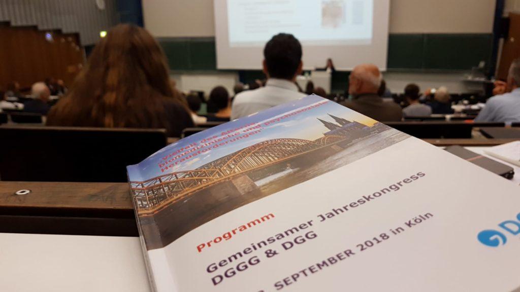Thomas Schatz hat den Leitkongress für Alternsfragen in Köln besucht.