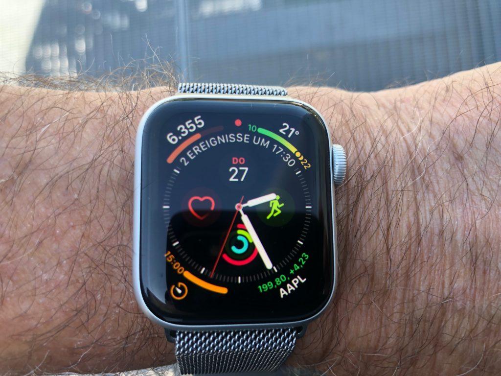 Apple Watch der vierten Generation