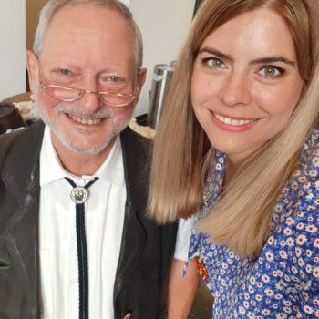 """Rolf-Hartmut Dörge und Julia Bruns waren für das Projekt VTTNetz bei der Fachtagung """"Barrierefreier Tourismus im Landkreis Harz"""" dabei."""
