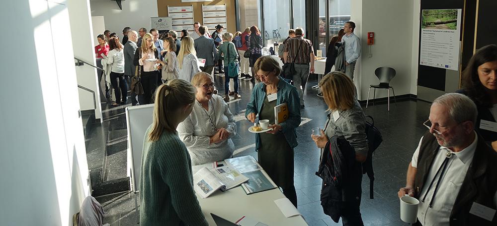 Die Fachtagung war gut besucht in der Papierfabrik der Hochschule Harz in Wernigerode.
