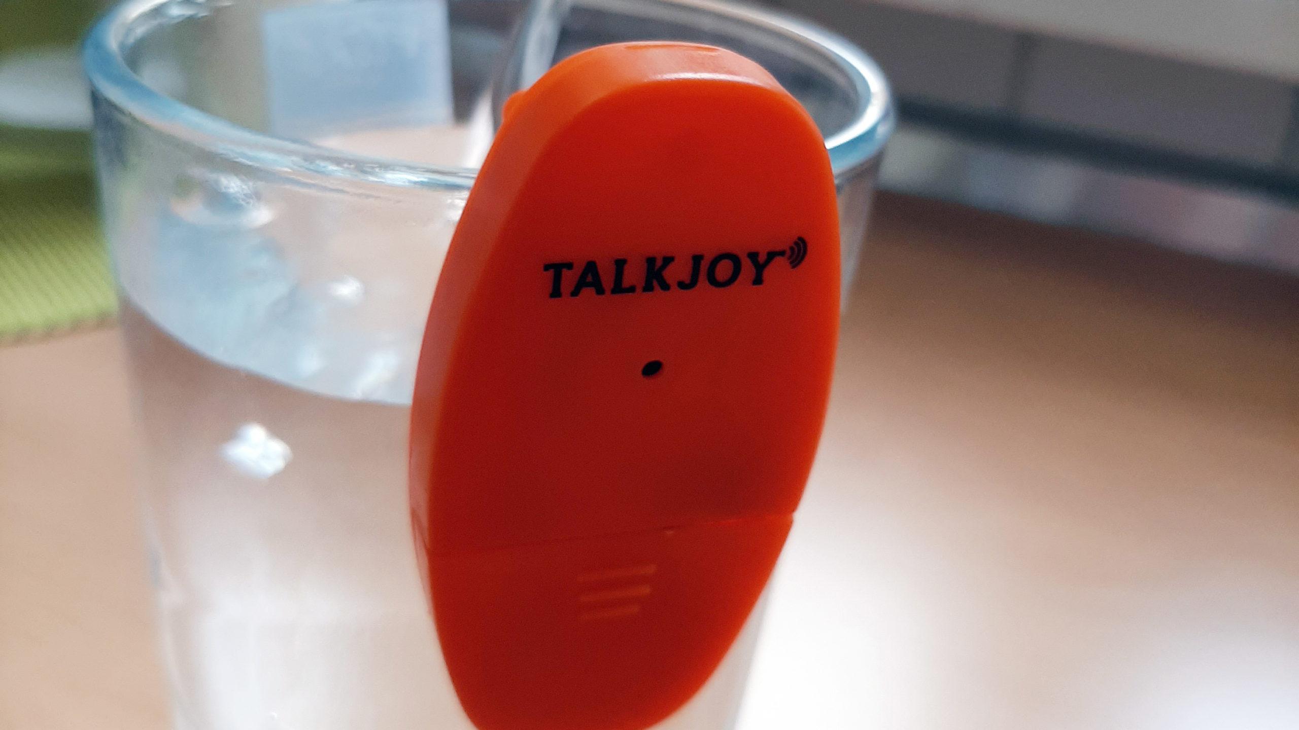 Trinkhilfe Talkjoy für Sehbehinderte