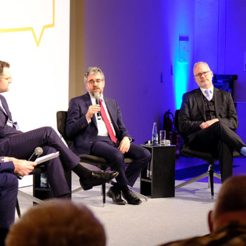 Jens Spahn diskutierte am 6. Februar 2020 in Wernigerode mit Bürgern über die Zukunft der Pflege in Deutschland.